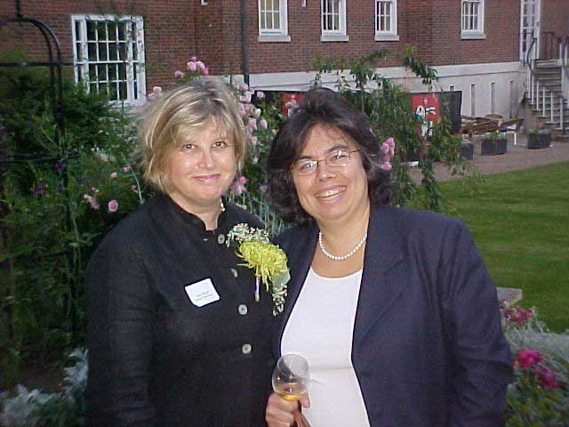 BACFI Chairman Christiane Valansot with Lucy Boyd of Lipson Lloyd-Jones (Event Sponsor)