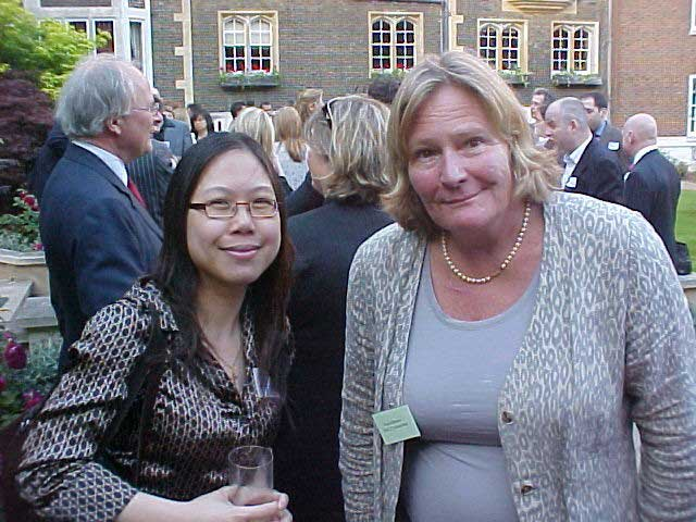 Trish Howse with Elaine Ngai