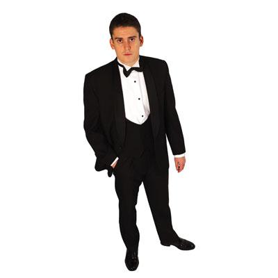 bow tie suit. Dinner Suit Hire